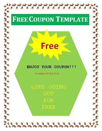 Free Coupon Template | Free Business Templates